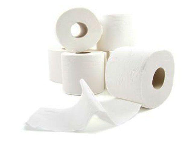 WC-Papier, hochweiss - dreilagig