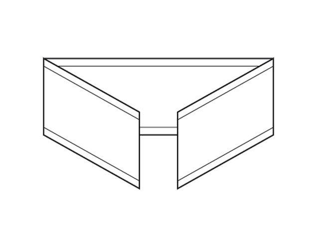 U-Clipse für den Beutelverschluss, gold - 33 mm