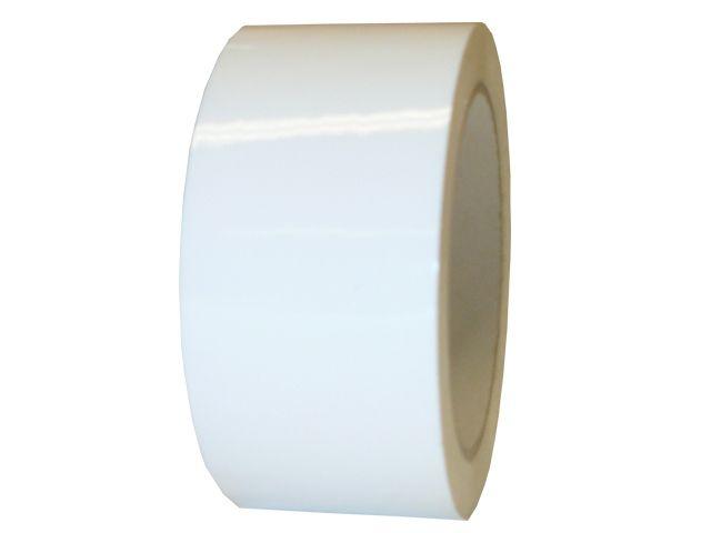 PVC-Packband, weiss - 50mmx66m - 33 my Folienstärke + Naturkautschukklebstoff - Pack-Film 866
