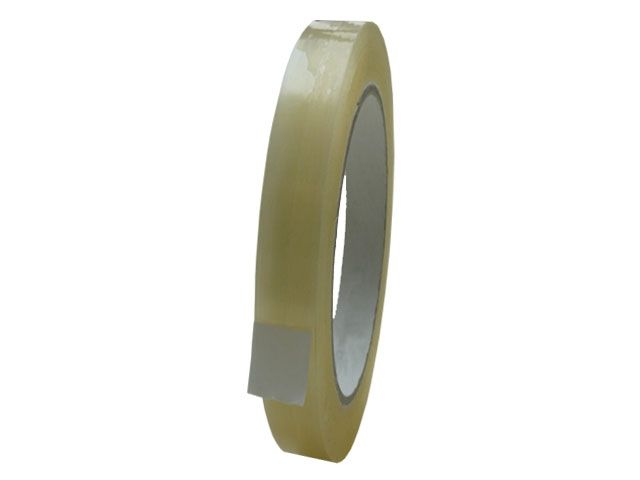 PP-Packband, transparent - 12mmx66m - 28 my Folienstärke + Acrylatklebstoff - Pack-Film 851