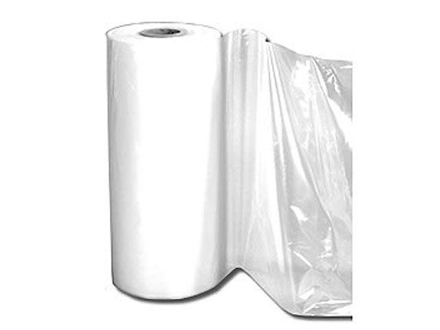 Baufolie aus LDPE, transparent - 4x50m - 150 my