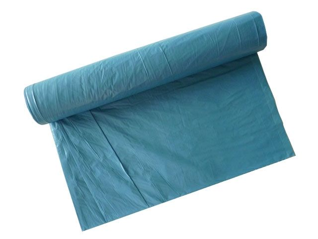Abfallbeutel aus LDPE, blau - Typ 60 (30my) - 480x650 mm