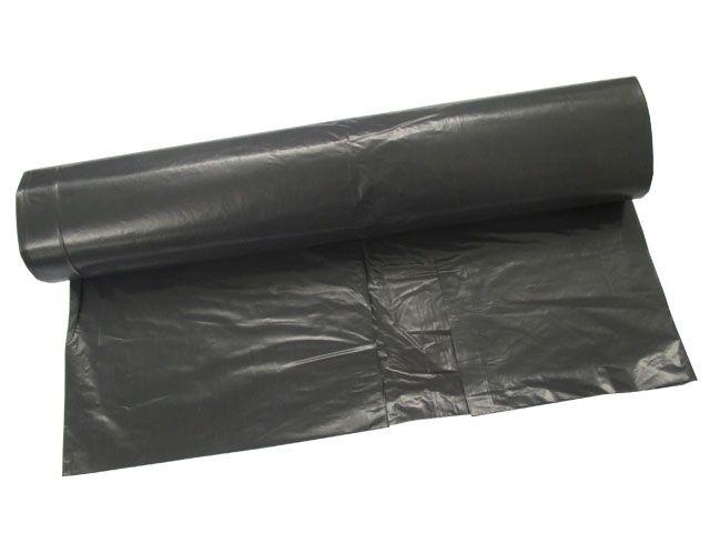 Abfallbeutel aus LDPE, grau - 120 Liter - Typ 100 extra (67my) - 700x1100 mm