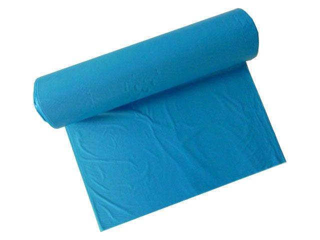Abfallbeutel aus HDPE, blau - 120 Liter - 700x1100 mm