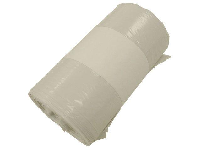 Abfallbeutel aus LDPE, weiss - 90 Liter - 630x850 mm
