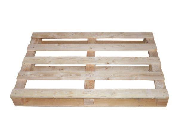 Einwegpaletten aus Holz 800x1250 mm - IPPC-behandelt - mit 17 mm Deckbrettern