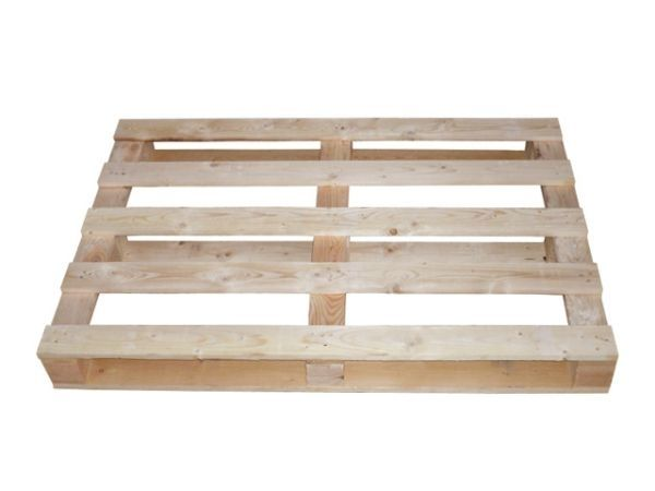 Einwegpaletten aus Holz 800x1450 mm - IPPC-behandelt - mit 17 mm Deckbrettern