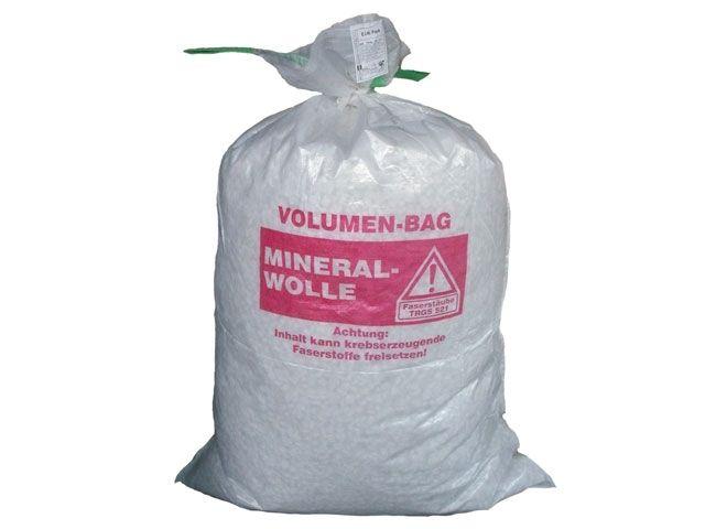 PP-Mineralwollsäcke, weiß - 140x220 cm - mit 2 Hebeschlaufen