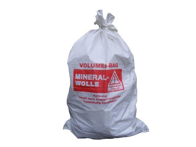 PP-Mineralwollsäcke, weiß - 140x220 cm - beschichtet