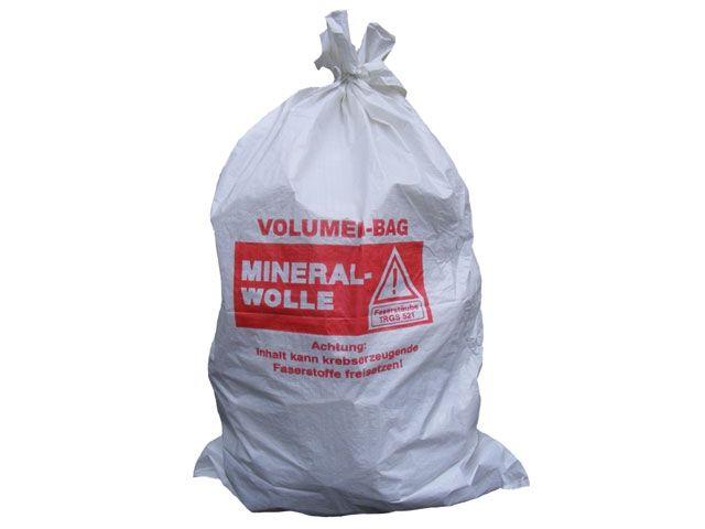 PP-Mineralwollsäcke, weiß - 140x220 cm mit Kordel im Kopfsaum