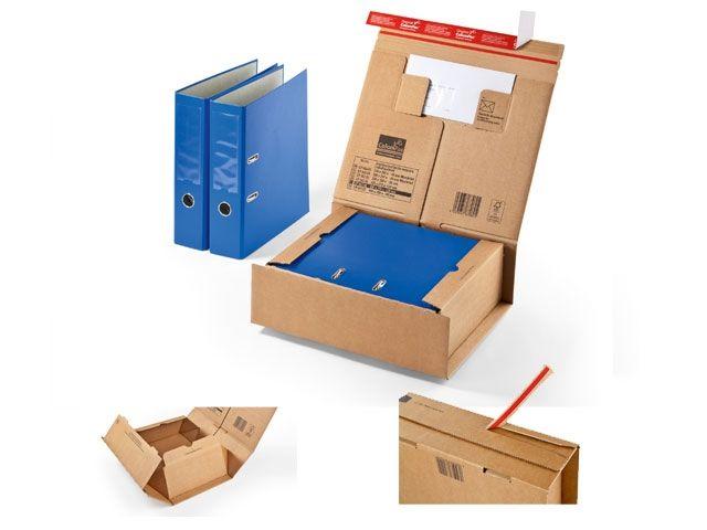 Paket Versandbox ColomPac CP 067.06 - 330x290x120 mm - mit Selbstklebeverschluss