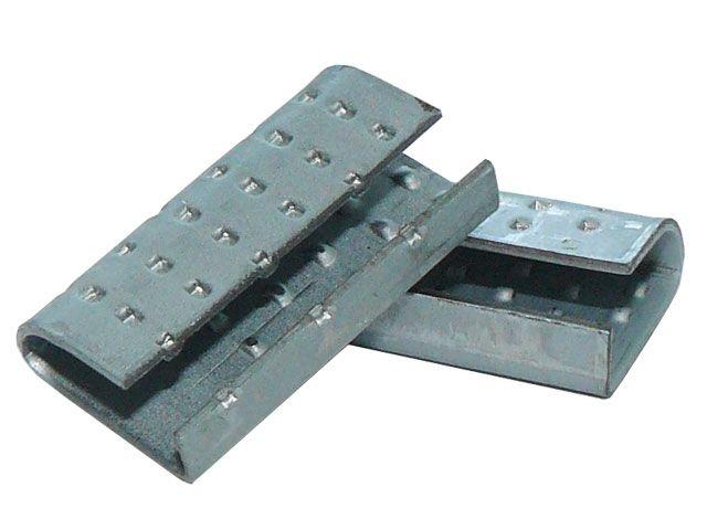 Verschlusshülsen für Umreifungsbänder aus PP - 16x30x1,0mm - für Orgapack Einhebelkombigerät